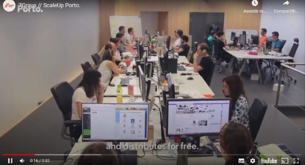 vídeo de uma empresa que fatura muito com google adsense